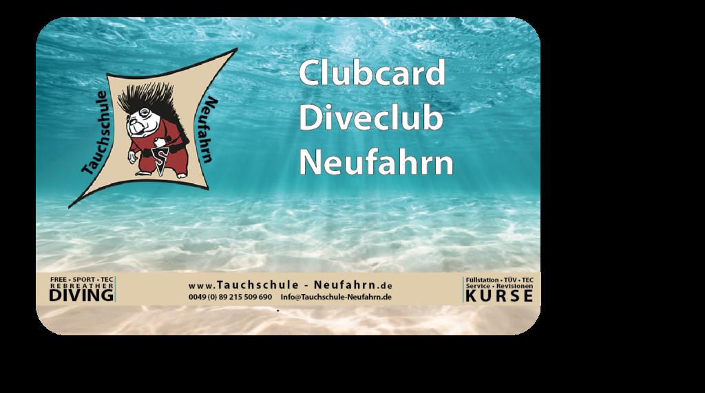 Tauchclub Tauchschule Neufahrn Membercard